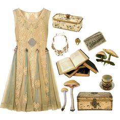 A fashion look from August 2013 featuring Oscar de la Renta necklaces and Yunus & Eliza rings. Browse and shop related looks.