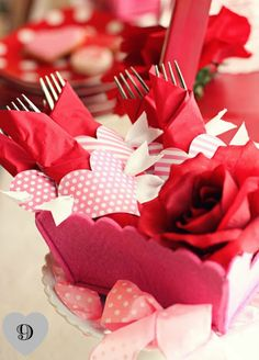 Table top ideas for Valentines Day - Creative Juice