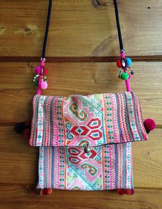 Vintage Hmong fabric hand stitch embroidery by KutchiKooTribe, $14.00