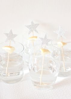 glittered stars 3 ways for new years eve
