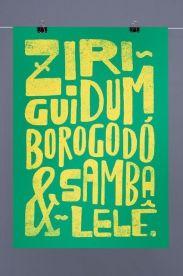 Estampa Poster Ziriguidum