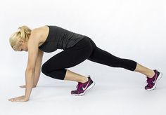 Here are 5 moves aimed at tightening the thighs, saddlebags and glutes