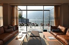 Read more about Il Sereno, designed by Patricia Urquiola, brings a new era of luxury to the banks of Italy's Iconic Lake Como. See more at http://www.covethouse.eu/ #designprojects #interiordesigninspirations #livingroomideas