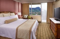 One Bedroom Ocean View at Queen Kapiolani Hotel. Our rooms do have flat screen TV's but with views like this they don't get much use...  #Hawaii #Waikiki #AquaHotels