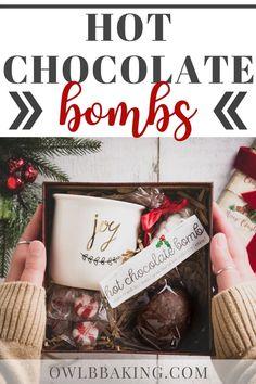 Hot Chocolate Bombs Christmas Food Gifts, Diy Holiday Gifts, Homemade Christmas Gifts, Christmas Goodies, Christmas Candy, Xmas Gifts, Homemade Gifts, Holiday Fun, Diy Gifts