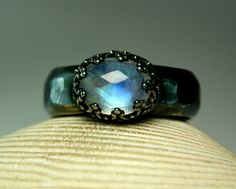 Hey, I found this really awesome Etsy listing at https://www.etsy.com/listing/169415155/blue-moonstone-ring-sterling-silver