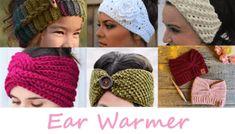 25 Crochet Christmas Patterns to Try - A More Crafty Life Bandeau Torsadé, Bandeau Crochet, Crochet Headband Free, Crochet Ear Warmer Pattern, Crochet Mittens Pattern, Chunky Crochet, Knit Crochet, Crochet Hats, Christmas Crochet Patterns