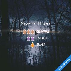 Blend Recipe: 3 drops Cedarwood, 2 drops Lavender, 1 drop Orange