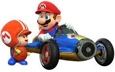 Mario & Toad | Mario Kart 8