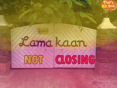 Lamakaan is not closing. You can still hangout there and have fun.