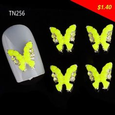 Have you seen this product? Check it out! 10pcs Glitter Butterfly Rhinestones 3d Nail Art Decorations, Alloy Nail Sticker Charms Jewelry for Nail Gel/Polish Tools TN256 - US $1.40 http://buyonline2.com/products/10pcs-glitter-butterfly-rhinestones-3d-nail-art-decorations-alloy-nail-sticker-charms-jewelry-for-nail-gelpolish-tools-tn256/