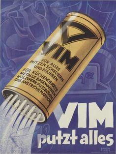 Julius Gipkens, Vim putzt alles Poster, 1927