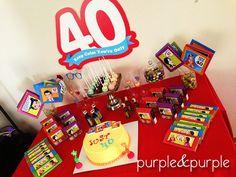 40 yaş doğum günü   Yetişkin Partileri   Parti Fikirleri   Parti Temaları   40th birthday