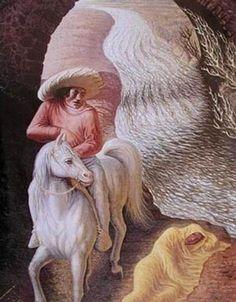 O Velho e o Rio - Octavio Ocampo e Suas Pinturas Cheias de Ilusões
