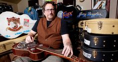 "You know, it's the coolest-looking instrument that ever was made!"" It should come as no surprise that Jerry Douglas is speaking about the Dobro and the various other resonator-equipped guitars in o…"
