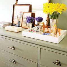 Susan Feldman and Alison Pincus, co-founders of One Kings Lane, show you how-to update your home for spring. Click through to see all the interior ideas.