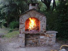 Photos décoration de Espace barbecue Barbecue à combustion Pierre de Annette