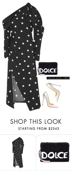 """""""Untitled #467"""" by fashionmahlo ❤ liked on Polyvore featuring Monse, Dolce&Gabbana and Christian Louboutin"""