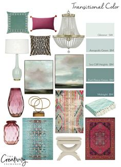 Monday: Layering Shades of Celadon Layering Transitional Colors. Decor, Home Decor Styles, Home Decor Inspiration, Transitional Decor, Home Decor, Living Room Interior, Room Colors, Interior Design Living Room, Interior Design