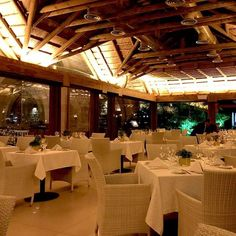 The beautiful Table Fine restaurant in Jounieh, Lebanon.