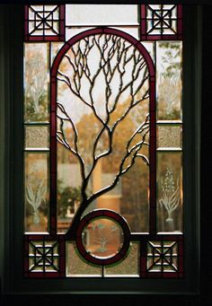 Interior Stained Glass Window Panels With Good Ideas For Trees And Branches Without Leaves The and Its Antique Style
