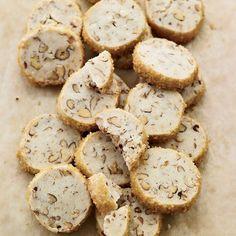 Pecan Shortbread Cookies | Karen DeMasco beats the dough for these buttery cookies with an entire vanilla bean, so the oils in the pod add deep vanilla flavor. (scheduled via http://www.tailwindapp.com?utm_source=pinterest&utm_medium=twpin&utm_content=post349027&utm_campaign=scheduler_attribution)