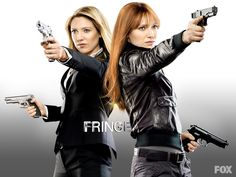 Anna Torv as Olivia Dunham and Bolivia Dunham in Fringe (2011)