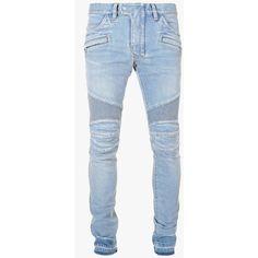 Mens Slim Light Blue Jeans | pants etc. | Pinterest | Light blue ...