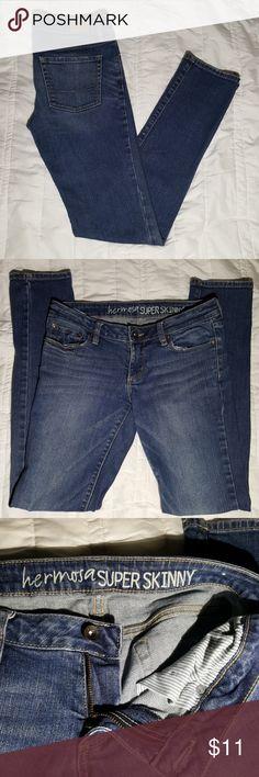 Bull Head Jeans Juniors Bull Head Hermosillo Supper Skinny Jean Size 5R Bullhead Jeans Skinny