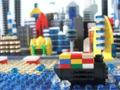 Brick-City Waterfront 2.0: A LEGO® creation by Tim M. : MOCpages.com