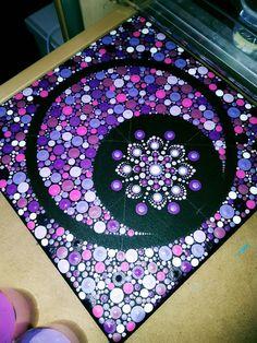 Dot Art Painting, Mandala Painting, Ceramic Painting, Stone Painting, Mosaic Rocks, Mosaic Art, Mandela Art, Mandala Canvas, Record Art