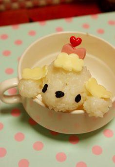 Teacup Poodle Onigiri by tay107