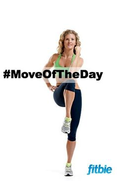 #MoveOfTheDay: Knee-Cross Crunch, works #abs and #core | Fitbie.com