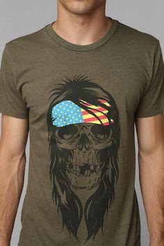 Hippie Skull Tee #urbanoutfitters