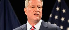 """March 22, 2017 - WOW! He is NOT protecting New Yorkers! New York City Mayor Bill de Blasio spoke about a new initiative being implemented to keep U.S. Immigration and Enforcement agents out of the public schools located within the five boroughs. During a press conference, de Blasio tried to reassure parents that ICE agents will have to follow their (the city's) rules and will not be allowed to """"blow by security."""""""