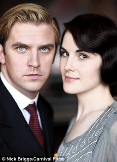 "I'm looking forward to the third series of ""Downton Abbey"", but when will we see it in South Africa? Back in time: Dan Stevens as Matthew Crawley, Michelle Dockery as Lady Mary"