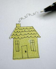 Eraser stamping 8