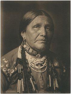 Otoe. Indian Woman