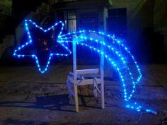 Christmas Lights, Christmas Diy, Xmas, Ramadan Decorations, Light Decorations, Balloon Birthday Themes, Boat Parade, Christmas Villages, Welding Projects