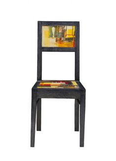 GALLERY CHAIR (ABSTRACT)  $199.00