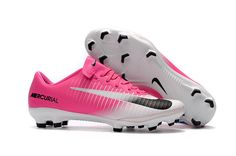 2017 Cheap Nike Mercurial Vapor XI FG Pink White Black Grey www.soccercp.org c8ef41e93