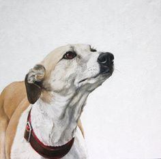 Dogs in Art at the StockBridge Gallery - Cleveland Painting by Coral Hutchings, £375.00 (http://www.dogsinart.com/cleveland-painting-by-coral-hutchings/)
