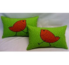 Outdoor Pillow Cover 11 x 17 from green sun and shade by LenkArt, $55.00