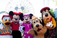 Minnie & friends at California Adventure