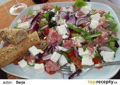 Luxusní rukolový salát recept - TopRecepty.cz Cottage Cheese, Cobb Salad, Ale, Tacos, Meat, Chicken, Ethnic Recipes, Food, Ale Beer