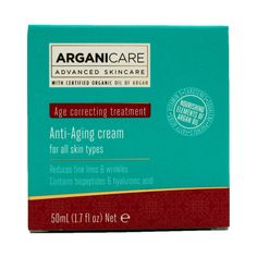 Arganicare Argan Oil Anti-Aging Cream, 1.7 Fluid Ounce -- Special  product just for you. See it now! : SkinCare for wrinkles