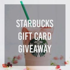 I'm looking to giveaway some Starbucks gift cards! Visit my Facebook page to learn more and enter to win. Just click the link in my bio and look for the pinned post! . . #blogger #giveaway #giveaways #facebook #followers #starbucks #free #coffee #tea #giftcard