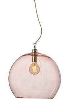 Lampa Rowan XL - wisząca lampa skandynawska w industrialnym stylu. Dostępna