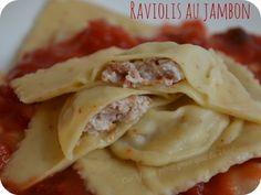Raviolis maison jambon – piment d'Espelette