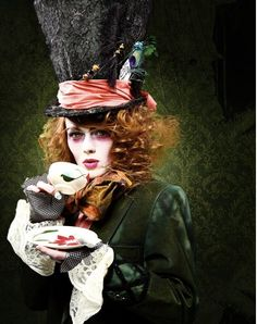 female mad hatter editorial shoots - Google Search